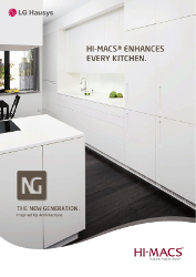 Hi-Macs Kitchen Brochure 2013 (EN)