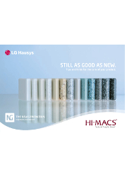 Hi-Macs Use and Care 2012 (EN)